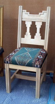 Chairs In Southwestern Styles Built In New Mexico