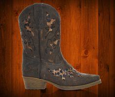 Laredo Girls' Leopard Print Cowboy Boots at Shoe Carnival.