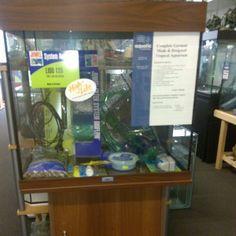 Juwel 120lt Lido Aquarium Set Up