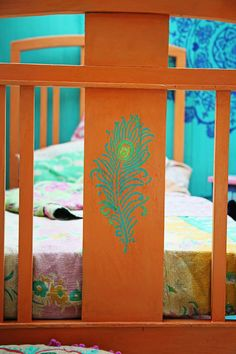 Janice Issitt Life Style Painters In Residence project. Moroccan bedroom, mandala, screen, bed and tiles all hand painted by me. Moroccan Bedroom, Using Chalk Paint, Linen Closet Organization, Annie Sloan Chalk Paint, Cool Paintings, Painters, Painted Furniture, Mandala, Kids Rugs
