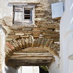 Photo A Day, First Photo, Beautiful Space, Greek Islands, Greece, Windows, Architecture, World, Places