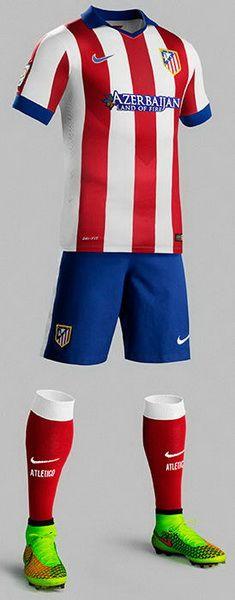 c1999440dd equipacion Atletico de Madrid 2014 2015 Camisetas De Equipo