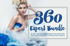 360 Premium Photoshop Actions for by @BeArtPresets on Etsy
