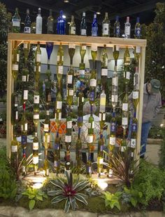 Bon Love This Wine Bottle Wall... Where Would I Place It?