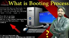 What is Booting Process | How Does Computer Work & POST Process Explained