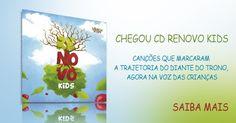 Renovo Kids é mais um trabalho direcionado para o público infantil, com a marca Crianças Diante do Trono, que chega às melhores lojas de todo o Brasil pela distribuição Onimusic. Saiba Mais Aqui