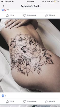How much does a hip tattoo hurt? We have hip tattoo ideas, designs, pain placement, and we have costs and prices of the tattoo. Pretty Tattoos, Sexy Tattoos, Beautiful Tattoos, Black Tattoos, Body Art Tattoos, Small Tattoos, Tattoos For Women, Tattoos For Guys, Forearm Tattoos