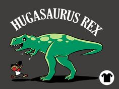 Hugasaurus Rex for $15 ||| Cage Match: Dinos vs. Dragons - Available until July 23rd 12AM CT