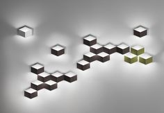 Vibia fold surface design for wall