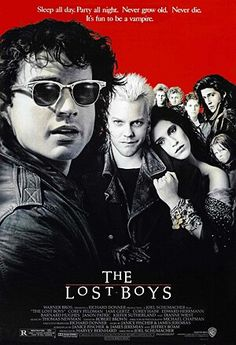 Directed by Joel Schumacher. With Jason Patric, Corey Haim, Dianne Wiest, Barnard Hughes. After moving to a new town, two brothers discover that the area is a haven for vampires. 80s Movie Posters, 80s Movies, Film Movie, Good Movies, 1980s Films, Greatest Movies, Indie Movies, Comedy Movies, Watch Movies