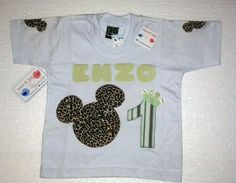 Camiseta Personalizada Mickey Safari