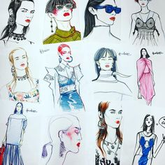 Fashion illustrator, deputy creative director at TSUM Department Store Lavdovskaya@gmail.com