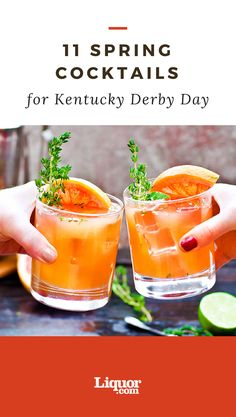 Kick off the #Kentucky #Derby with these #cocktails this year!