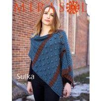 Button-Up Shawl Vest in Mirasol Sulka (M5029) Digital Version