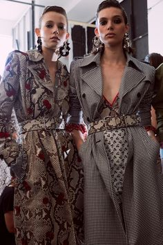 Altuzarra SS17 New York ready-to-wear Dazed backstage