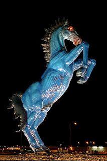 Denver's International Airport Blue Horse