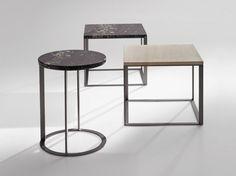 LITHOS Tavolino quadrato by Maxalto, a brand of B