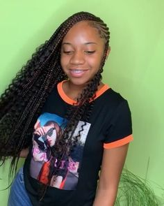 braided hairstyles 2018 hairstyles little girl hairstyles designs hairstyles for 13 year olds hairstyles long hair wedding hairstyles pakistani hairstyles quick and easy hairstyles african american hair Box Braids Hairstyles, Braided Cornrow Hairstyles, Lemonade Braids Hairstyles, Black Girl Braided Hairstyles, Black Girl Braids, Braids For Black Hair, My Hairstyle, Girls Braids, Hairstyles 2018
