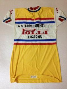 MAGLIA CICLISMO VINTAGE BICI SHIRT CYCLING JERSEY GIANNI VITTORE GS POLLI   eBay