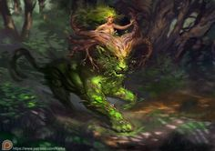 Forestspirit P by KetkaForestspirit P by Ketka female forest woods guardian spirit dryad elf animal monster creature beast lion armor clothes clothing fashion player character npc | Create your own roleplaying game material w/ RPG Bard: www.rpgbard.com | Writing inspiration for Dungeons and Dragons DND D&D Pathfinder PFRPG Warhammer 40k Star Wars Shadowrun Call of Cthulhu Lord of the Rings LoTR + d20 fantasy science fiction scifi horror design | Not Trusty Sword art: click artwork for source