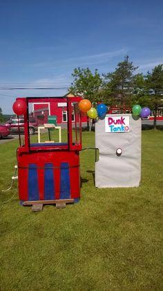 How to build a DIY Homemade Dunk Tank
