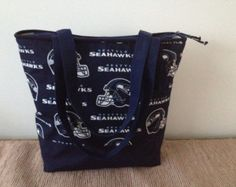 Seattle Seahawks -Lady purses -Sport logos purses- NFL purses--Unique handbags