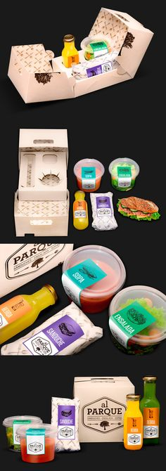 Showcase and discover creative work on the world& leading online platform for creative industries. Salad Packaging, Sandwich Packaging, Juice Packaging, Cool Packaging, Food Packaging Design, Paper Packaging, Brand Packaging, Packaging Ideas, Food Branding