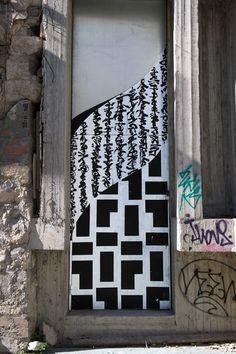 Blaqk - Greek Street Artists - Athens - 2014 - |\*/| #blaqk #streetart