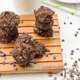 Linked to: www.pancakewarriors.com/vegan-triple-chocolate-protein-cookies/