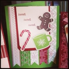 Stampin'Up winter card