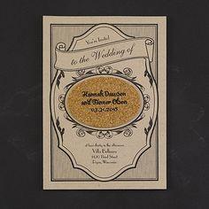 Fine Vintage - Invitation Affordable Wedding Invitations, Vintage Wedding Invitations, Rustic Invitations, Invitation Design, Wedding Stationery, Invites, Cork Wedding, Vintage Wedding Theme, Amazing Weddings