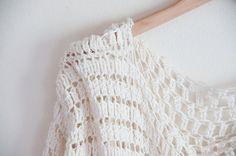 Sweater crochet pattern - easy