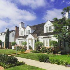 Charming houses  on Coronado Island