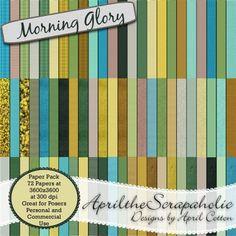 Morning Glory - Paper Pack - CU/PU