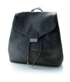"Pixie Mood Vegan Leather ""Jessica"" Backpack (Black)"