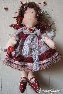 Jolie Rouge Doll Angel