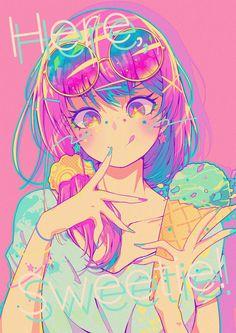 Anime Chibi, Manga Anime Girl, Cool Anime Girl, Anime Girl Drawings, Kawaii Art, Kawaii Anime Girl, Manga Art, Box Manga, Cute Anime Character