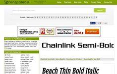 FontPalace es una página que reúne alrededor de 72.000 fuentes de texto gratuitas para descargar y utilizar en nuestros proyectos y trabajos.