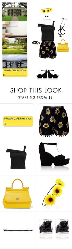 """""""Hart of Dixie"""" by blackmagicmomma ❤ liked on Polyvore featuring Seabrook, Robert Clergerie, Dolce&Gabbana, Forever 21, Cara and Furla"""