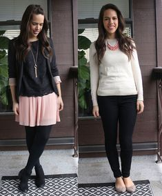 jules in flats: What I Wore: February Week One & Two