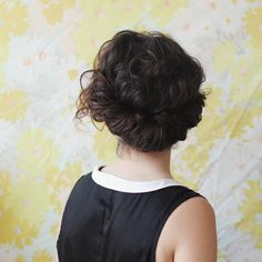 A round up of 20 curly hairstyles that will slay at your wedding, bridal shower, or formal event.