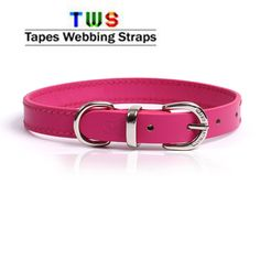 Dog collar in baby pink colour are also available at us.  For more details click on the below link or call us on +9833884973/9323558399  http://tapeswebbingstraps.in/  Courtsey : Tapes Webbing strap