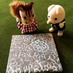 Tutorial: Pebble stone pavement - Mimi's Little Sylvanian Town