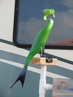 Check out http://staugbirdman.com! prices for Robins PVC Birds