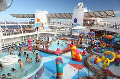 Great article that lists the best ships in various cruise lines for kids and families.