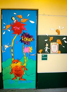 Lorax Door :)... Wow, that takes some time...