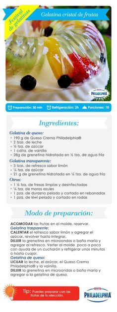 Gelatina Cristal
