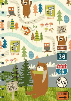 print & pattern: CINNAMON JOE STUDIO - graphics