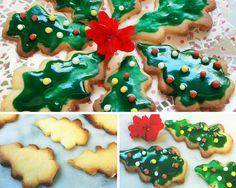 ¡Cómo ha pasado diciembre! ya casi con las fiestas encima... estamos probando a hacer una galletas de mantequilla y limón con un toque navideño. ¿Qué os parecen?