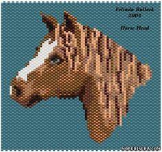 Схемы Символа 2014 года Лошадь 2 - Животные - Схемы плетения бисером - Сокровищница статей - Плетение бисером украшений, деревьев и цветов, схемы мк